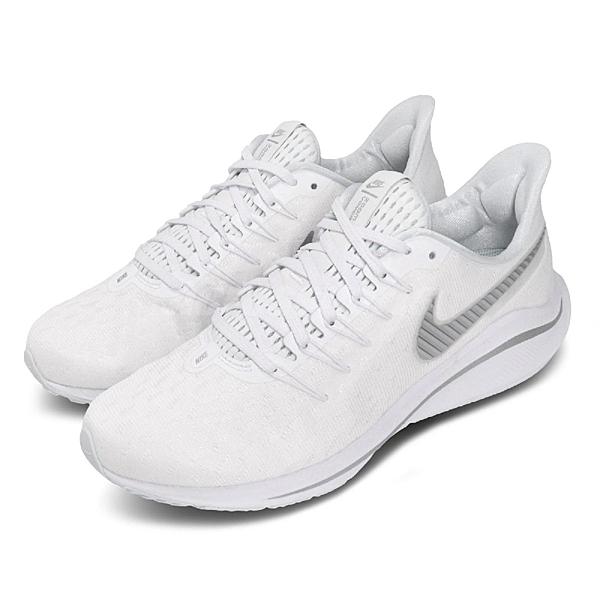 Nike 慢跑鞋 Wmns Air Zoom Vomero 14 白 銀 女鞋 運動鞋 【ACS】 AH7858-102