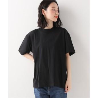 U by SPICK & SPAN 【HANES】Boyfriend Big T-shirt ブラック フリー