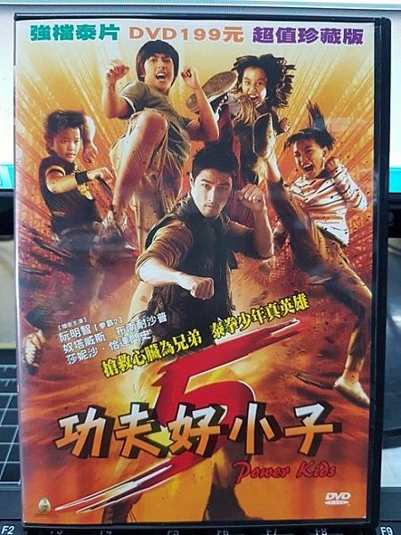 挖寶二手片-H31-004-正版DVD-泰片【功夫好小子】-搶救心臟為兄弟 泰拳少年真英雄