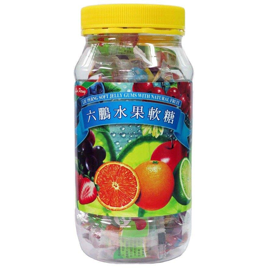 六鵬 水果軟糖80g【甜蜜家族】