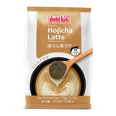 金麒麟gold kili 即溶焙茶拿鐵(20gx15入)