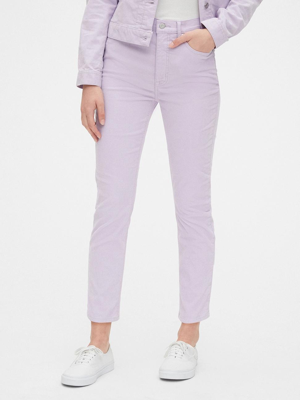 女裝 活力亮色五口袋牛仔褲