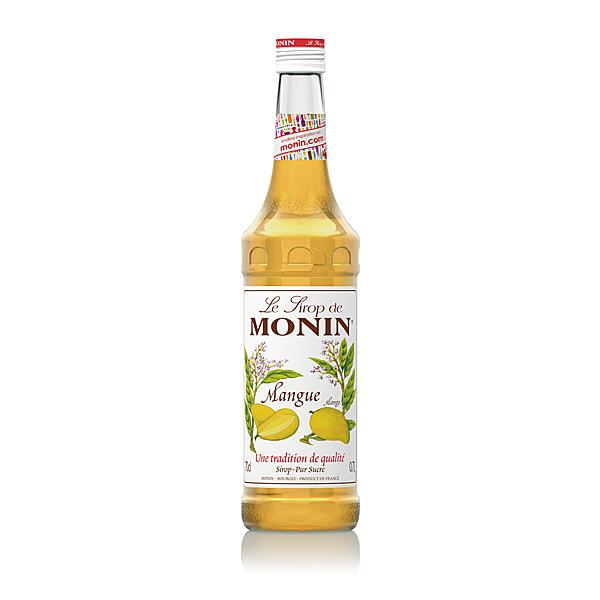 Monin糖漿-芒果700ml (專業調酒比賽 及 世界咖啡師大賽 指定專用產品)