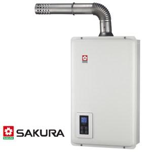 櫻花 SPA數位恆溫熱水器 16L DH-1670A LPG/FE式 桶裝