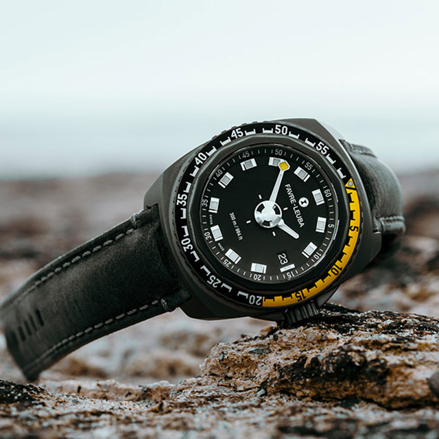 FAVRE-LEUBA 域峰 RAIDER Deep Blue 300米潛水機械錶-44mm 00.10122.10.14.45