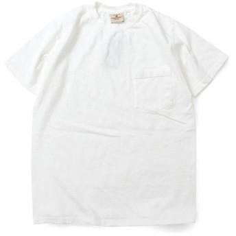 GOODWEAR グッドウェア S/S POCKET TEE 半袖 ポケット Tシャツ WHITE ホワイト