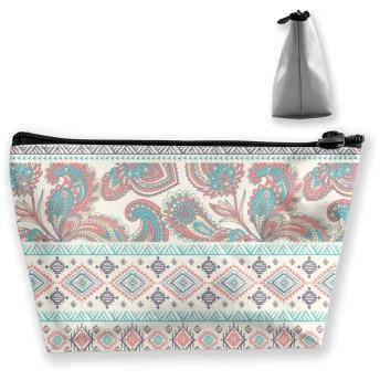 ファッションのデザイン 化粧ポーチ メイクポーチ ミニ 財布 機能的 大容量 ポータブル 収納 小物入れ 普段使い 出張 旅行 ビーチサイド旅行