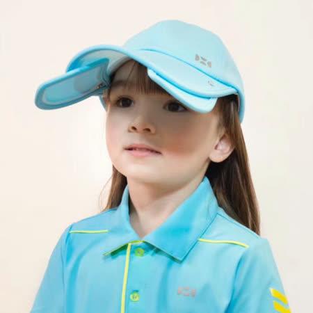 【HOII后益官方授權】兒童-二合一造型棒球帽-藍