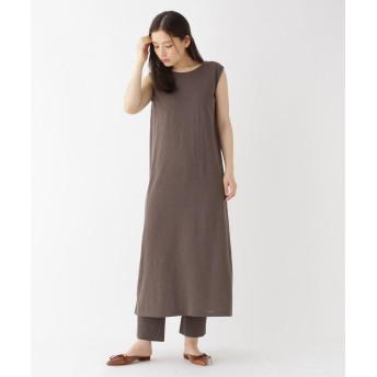 DRESSTERIOR(Ladies)(ドレステリア(レディース)) 【洗える】バックシャンニットドレス