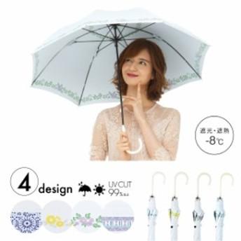 晴雨兼用傘ヒートカットショート/リプル/リプル/00000