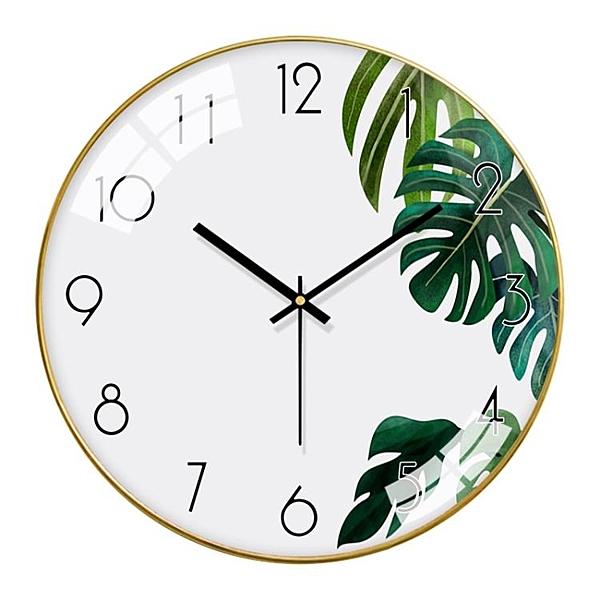 掛鐘 梵現代掛鐘客廳北歐錶掛墻家用時尚簡約鐘錶臥室靜音時鐘創意掛錶 ATF 全館鉅惠