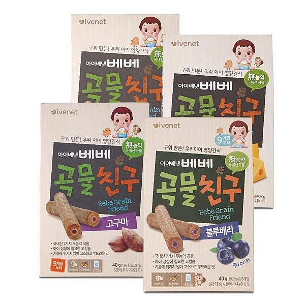 韓國 ivenet 艾唯倪 穀物棒棒【六甲媽咪】