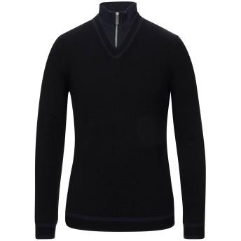《セール開催中》BIKKEMBERGS メンズ タートルネック ブラック XS ウール 60% / ナイロン 40%