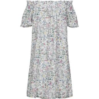 《セール開催中》ANTONELLA VALSECCHI レディース ミニワンピース&ドレス ホワイト M コットン 100%