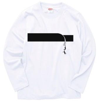 black tape ユーモア(長袖Tシャツ)