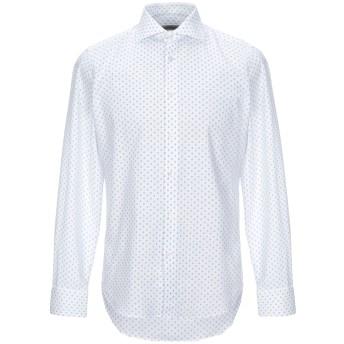 《セール開催中》WEST COAST メンズ シャツ ホワイト 39 コットン 100%