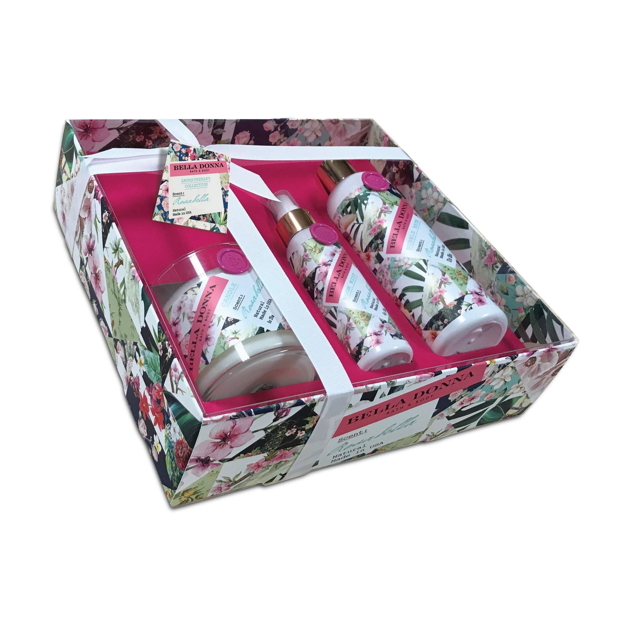 【Bella Donna】香氛禮盒 (魅惑玫瑰)