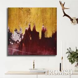 TROMSO-百勝藝術立體抽象油畫_60×60cm  W408