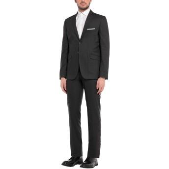 《セール開催中》EXIBIT メンズ スーツ スチールグレー 48 コットン 74% / ナイロン 24% / ポリエステル 2%