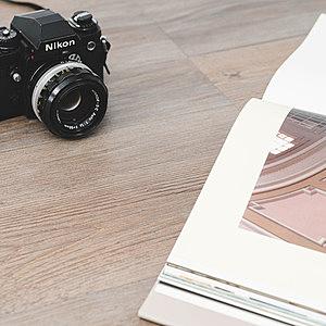 樂嫚妮 奈米銀負離子1坪 DIY仿木紋地板貼-24片-奧登斯木紋-台灣