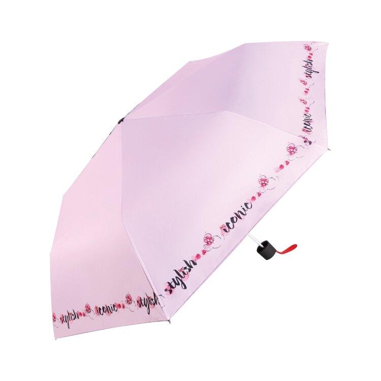 【哇哇蛙】迪士尼 DS3537-003 (俏麗米妮)(淺紫色) 雨具 雨傘 陽傘 摺疊傘 晴雨兩用 隨身傘