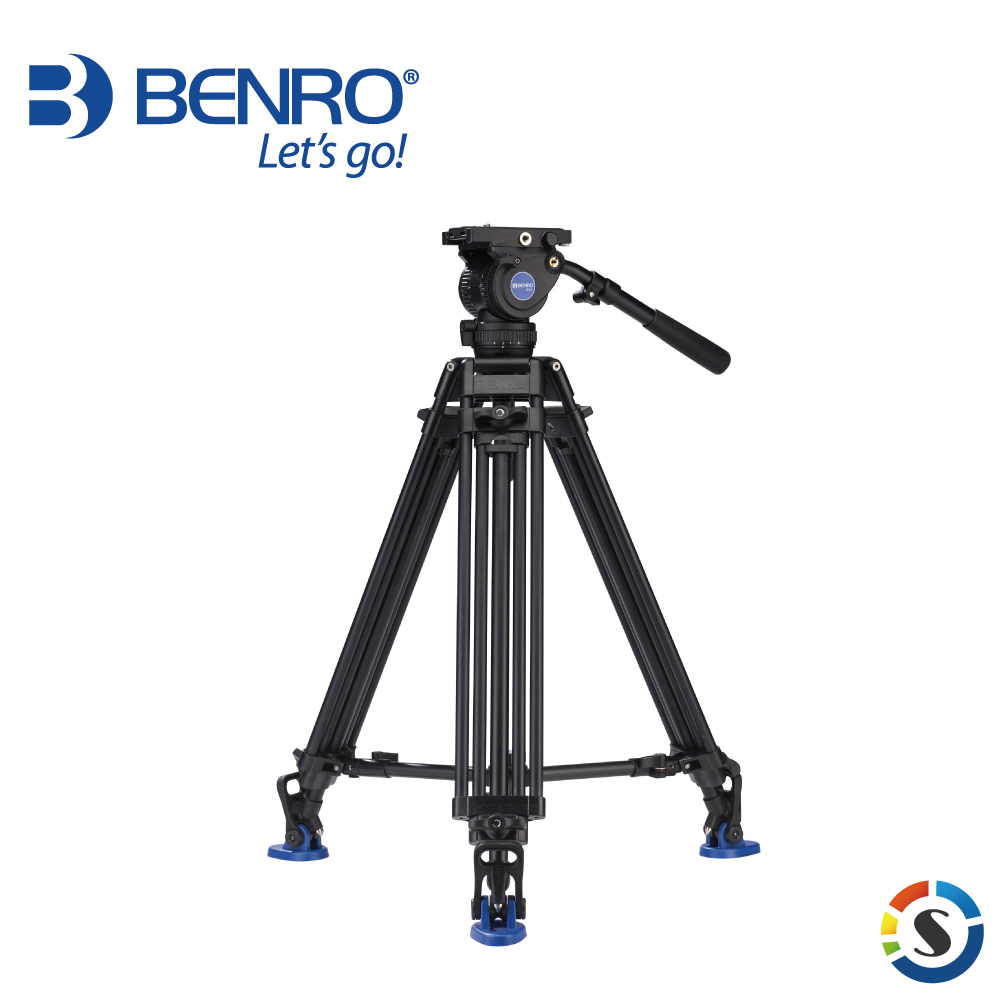 BENRO 百諾 BV8 BV系列專業油壓攝影套組