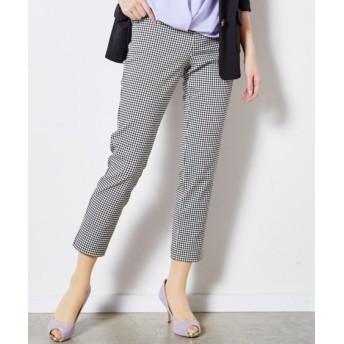 ヨコすごのびアンクル丈パンツ(ゆったりヒップ) (大きいサイズレディース)パンツ, plus size pants