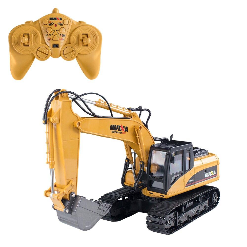 【瑪琍歐玩具】2.4G 十五通道合金遙控挖掘機/1550