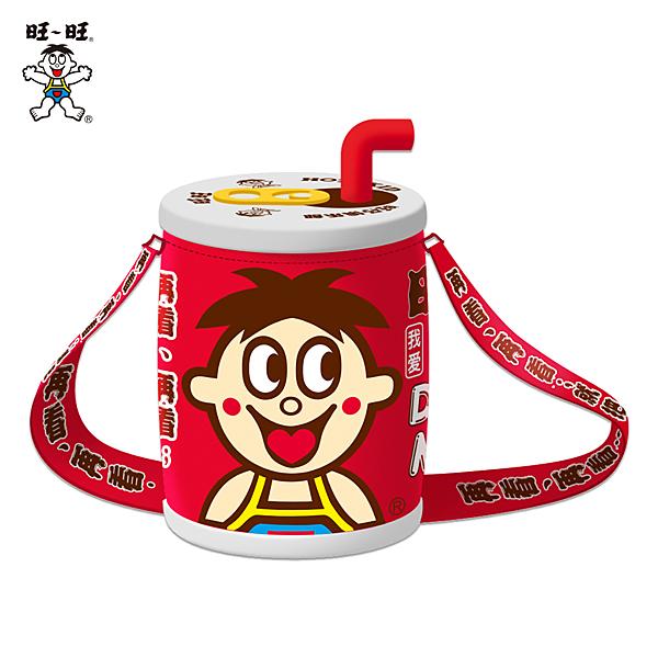 【旺旺官方旗艦店】旺仔俱樂部 旺仔牛奶罐側背包