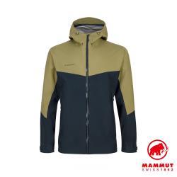 【瑞士 Mammut 長毛象】Convey Tour HS Hooded Jacket GTX防風防水連帽外套 男款 #1010-27840