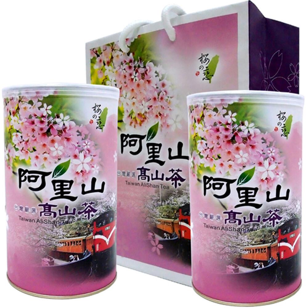 新造茗茶阿里山頂級手採烏龍(150g*2罐)