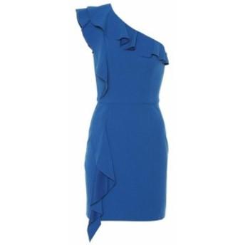 レベッカ ヴァランス Rebecca Vallance レディース ワンピース ワンショルダー ワンピース・ドレス Caspian one-shoulder minidress Blue