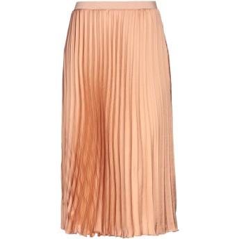 《セール開催中》MR MASSIMO REBECCHI レディース 7分丈スカート あんず色 XS ポリエステル 100%
