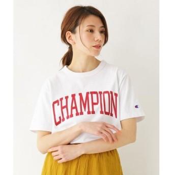 SHOO・LA・RUE / シューラルー Champion ビッグロゴTシャツ