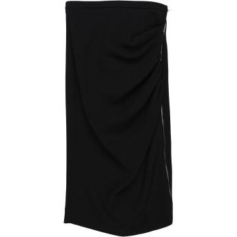 《セール開催中》ROCHAS レディース 7分丈スカート ブラック 38 バージンウール 99% / ポリウレタン 1%