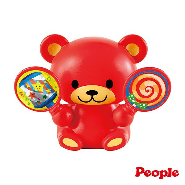 日本People 歡樂五感音樂小熊【甜蜜家族】