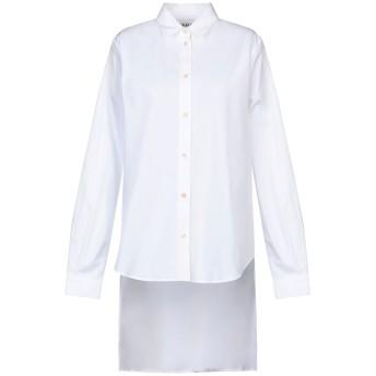 《セール開催中》AALTO レディース シャツ ホワイト 40 コットン 100% / ポリエステル