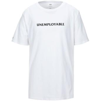 《セール開催中》GLOBE メンズ T シャツ ホワイト S コットン 100%