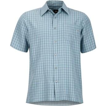 マーモット(Marmot) トップス シャツ Marmot Men's Eldridge SS Shirt Blue Grani メンズ [並行輸入品]