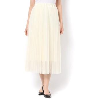 【テチチ/Te chichi】 チュールプリーツスカート