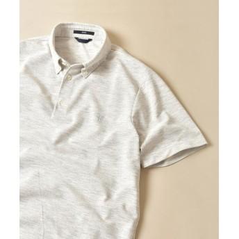 (SHIPS MEN/シップス メン)SC:【WEB限定】吸水速乾・UVケア ボタンダウン ポロシャツ/メンズ ライトグレー