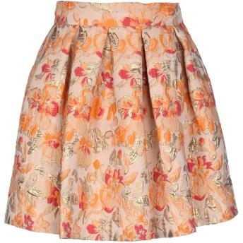 《セール開催中》BOTTEGA MARTINESE レディース ひざ丈スカート あんず色 40 ポリエステル 57% / ナイロン 19% / シルク 15% / 指定外繊維 9%