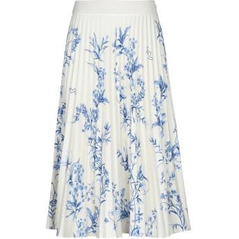 《セール開催中》SSHEENA レディース 7分丈スカート アイボリー 42 ポリエステル 100%