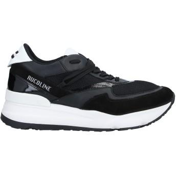 《セール開催中》RUCO LINE メンズ スニーカー&テニスシューズ(ローカット) ブラック 41 革 / 紡績繊維