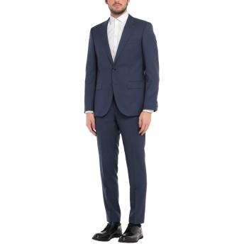《セール開催中》TOMMY HILFIGER メンズ スーツ ブルー 48 バージンウール 100%