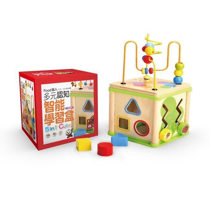 風車圖書 FOOD超人-寶寶多元智能學習盒(新版)【甜蜜家族】