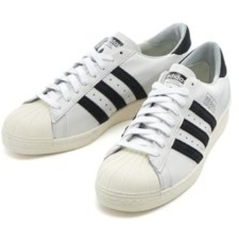 【ABC-MART:シューズ】EE7396 SUPERSTAR 80S RECON WHT/BLK 595434-0001
