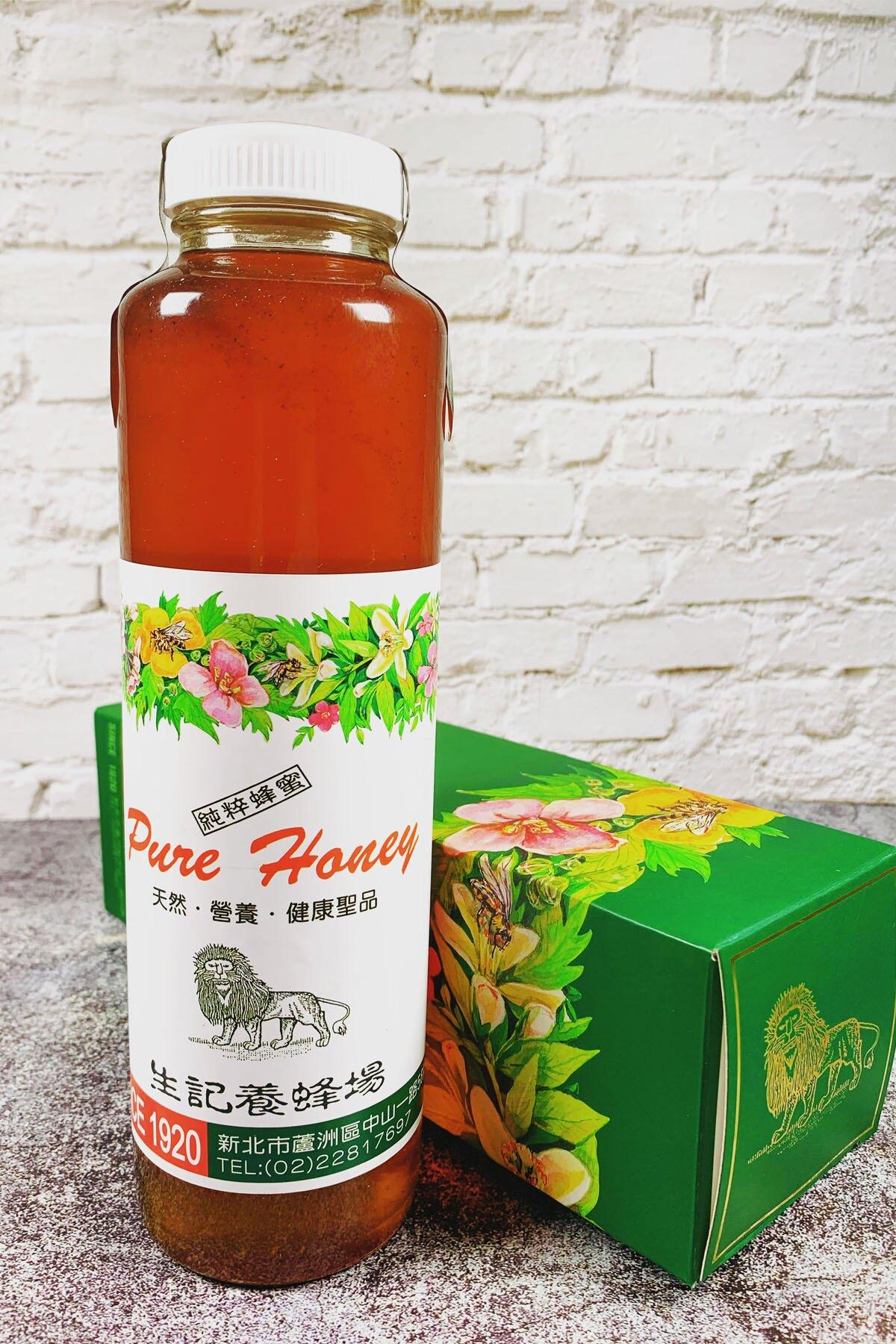 純天然龍眼蜂蜜600c.c (一瓶)百年老字號生記養蜂場