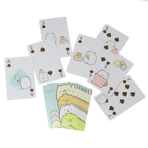 日本製正版 角落生物 撲克牌 遊戲 桌遊 小學生必備 過年必備