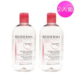 BIODERMA貝膚黛瑪 高效潔膚液500mlx2入組(一般/敏感肌)